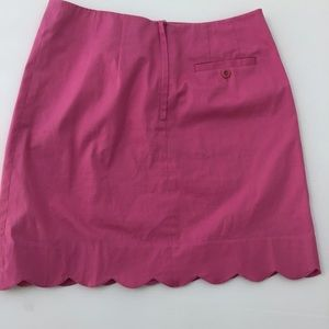 Lilly Pulitzer Skirts - Lilly Pulitzer Scalloped Pink Skirt 4